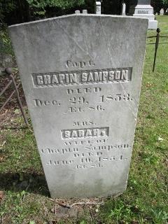 Capt Chapin Sampson, II