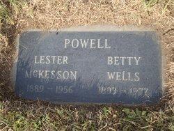 Betty <i>Wells</i> Powell