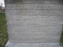 Benedict Zachariah Buckman