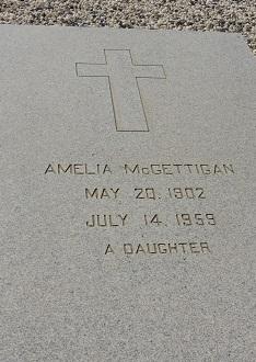 Amelia M. <i>Galli</i> McGettigan