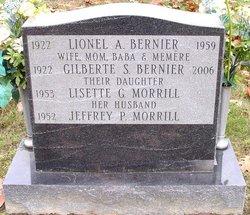 Gilberte R.S. <i>Fournier</i> Bernier