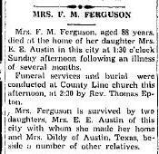 Lucy Alla <i>Merrell</i> Ferguson