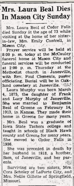 Laura <i>Murphy</i> Beal