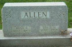 Rosa A <i>Bahlman</i> Allen