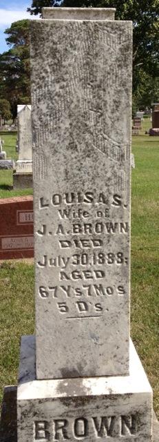 Louisa Seymour <i>Sholes</i> Brown