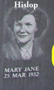 Mary Jane <i>Hislop</i> Brubaker