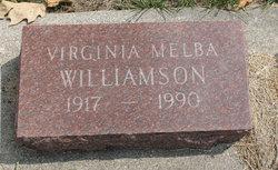 Virginia Melba <i>Brown</i> Williamson Mosteller