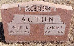Osborn B Acton