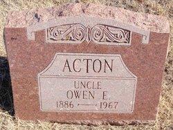 Owen E Acton