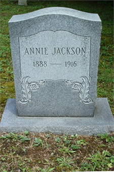 Annie <i>Abner</i> Jackson