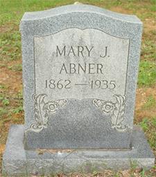 Mary Jean <i>Dean</i> Abner