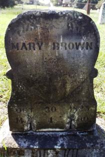 Mary Elizabeth Martha <i>Walker</i> Brown