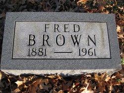 Fredrick Fred <i>Braun</i> Brown