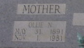 Ollie Mae <i>Norwood</i> Wood
