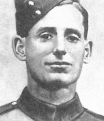 Sgt Arthur Evans