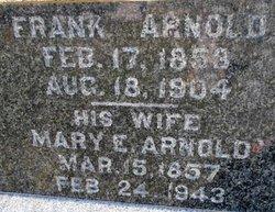Mary Eliza <i>Trimble</i> Arnold