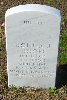 Donna Jean <i>Wager</i> Doom