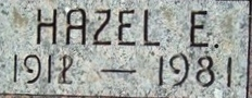 Hazel Elizabeth <i>Corman</i> Burns