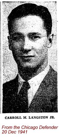 Lieut Carroll Napier Langston, Jr