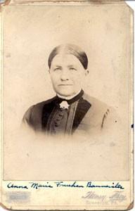 Anna Maria May <i>Fruehan</i> Baumeister