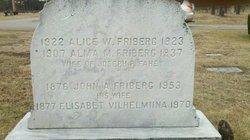 Elizabeth Wilhelmiina Adolfiinasdotter <i>Leppamaki</i> Friberg