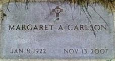 Margaret Annie <i>Cookman</i> Carlson