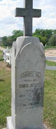 Mary M. <i>Koch</i> Beste