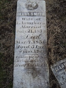 Mary <i>Smith</i> Arturburn