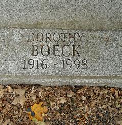 Dorothy Boeck