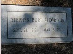 Stephen Burt Secord, Jr