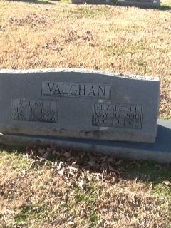 Elizabeth Alice <i>Bringle</i> Vaughan