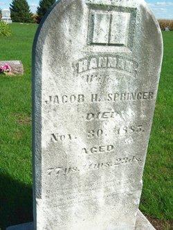 Hannah Anna <i>Devoe</i> Springer