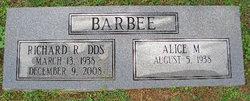 Alice Viola <i>Miles</i> Barbee