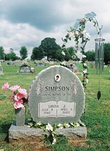Linda J <i>Curtis</i> Simpson