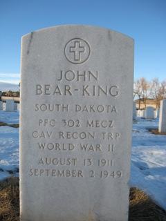PFC John Bear King