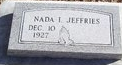 Nada Irene <i>Carlton</i> Jeffries