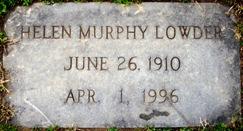 Helen <i>Murphy</i> Lowder