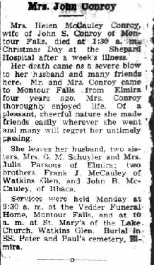 Helen Nellie <i>McCawley</i> Conroy