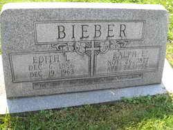 Edith Luella <i>Rummel</i> Bieber