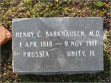 Dr Henry Conrad Barkhausen