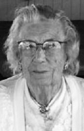 Audrey Myrtle <i>Branum</i> Amos