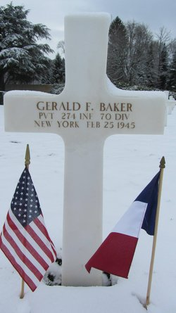 Pvt Gerald F Baker