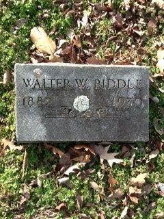Walter Winford Biddle