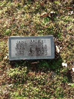 Sarah Jane <i>Bizzell</i> McKee