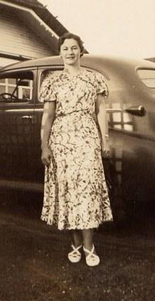Madeline Mary Bertie <i>Lee</i> Diamond