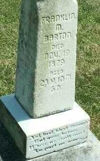 Franklin Marion Barton