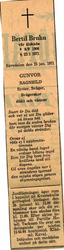 Sven Bertil Bruhn