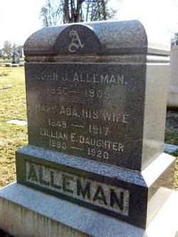 Lillian Bessie <i>Alleman</i> Alleman