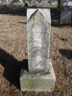 Dorinda Ellen Ann - Helen <i>Cooper</i> Mattingly