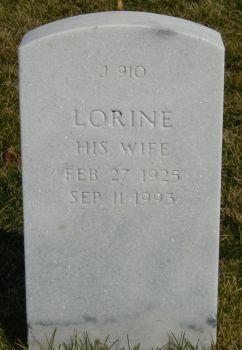 Lorine <i>Black</i> Bissell